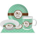 Om Dinner Set - 4 Pc (Personalized)