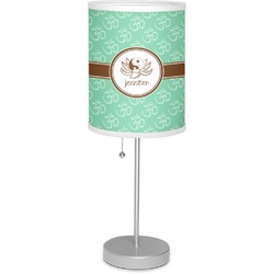 """Om 7"""" Drum Lamp with Shade (Personalized)"""