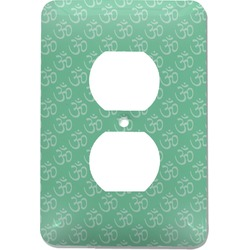Om Electric Outlet Plate (Personalized)