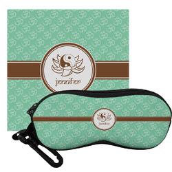Om Eyeglass Case & Cloth (Personalized)