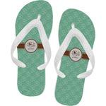 Om Flip Flops (Personalized)