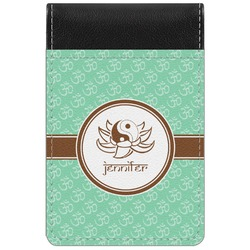 Om Genuine Leather Small Memo Pad (Personalized)
