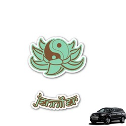 Om Graphic Car Decal (Personalized)