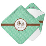 Om Hooded Baby Towel (Personalized)