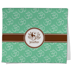 Om Kitchen Towel - Full Print (Personalized)
