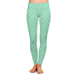 Om Ladies Leggings - Large (Personalized)