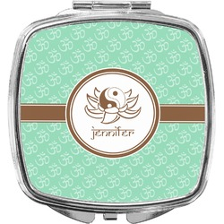 Om Compact Makeup Mirror (Personalized)