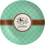 Om Melamine Plate (Personalized)