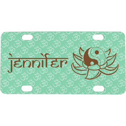Om Mini / Bicycle License Plate (Personalized)