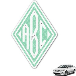 Om Monogram Car Decal (Personalized)
