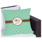 Om Outdoor Pillow (Personalized)