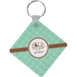 Om Diamond Key Chain (Personalized)