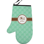 Om Left Oven Mitt (Personalized)