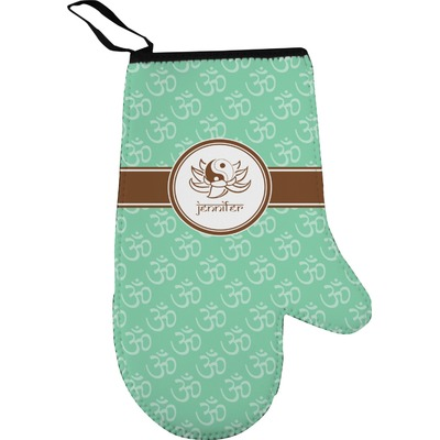 Om Right Oven Mitt (Personalized)