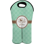 Om Wine Tote Bag (2 Bottles) (Personalized)
