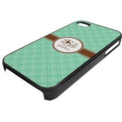 Om Plastic 4/4S iPhone Case (Personalized)