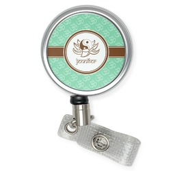 Om Retractable Badge Reel (Personalized)
