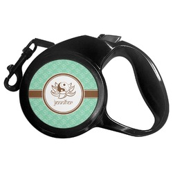 Om Retractable Dog Leash (Personalized)