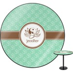 Om Round Table (Personalized)
