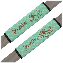 Om Seat Belt Covers (Set of 2) (Personalized)