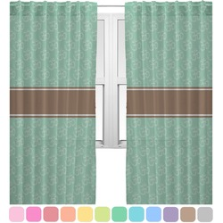 Om Sheer Curtains (Personalized)