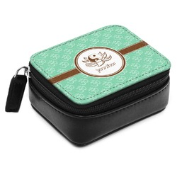 Om Small Leatherette Travel Pill Case (Personalized)