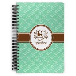 Om Spiral Bound Notebook (Personalized)