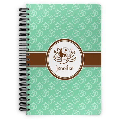 Om Spiral Bound Notebook (Personalized)