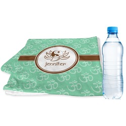 Om Sports Towel (Personalized)
