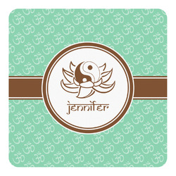 Om Square Decal - Medium (Personalized)