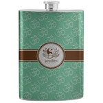 Om Stainless Steel Flask (Personalized)