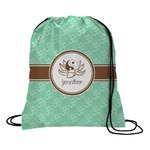Om Drawstring Backpack (Personalized)