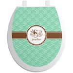 Om Toilet Seat Decal (Personalized)