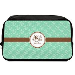 Om Toiletry Bag / Dopp Kit (Personalized)
