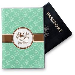 Om Vinyl Passport Holder (Personalized)