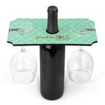 Om Wine Bottle & Glass Holder (Personalized)