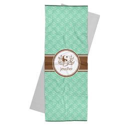 Om Yoga Mat Towel (Personalized)