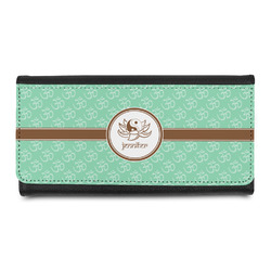 Om Leatherette Ladies Wallet (Personalized)
