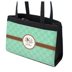 Om Zippered Everyday Tote (Personalized)