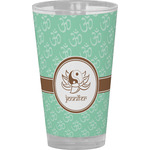 Om Drinking / Pint Glass (Personalized)