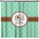 Om Shower Curtain (Personalized)