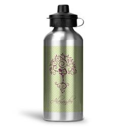 Yoga Tree Water Bottle - Aluminum - 20 oz (Personalized)