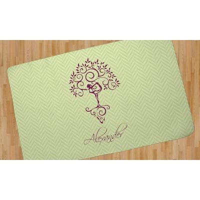 Yoga Tree Area Rug (Personalized)