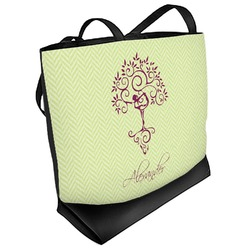 Yoga Tree Beach Tote Bag (Personalized)
