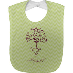 Yoga Tree Baby Bib (Personalized)