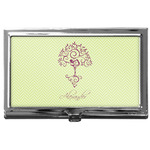 Yoga Tree Business Card Case
