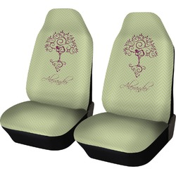 Yoga Tree Car Seat Covers (Set of Two) (Personalized)