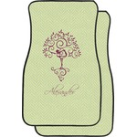 Yoga Tree Car Floor Mats (Front Seat) (Personalized)