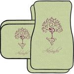 Yoga Tree Car Floor Mats (Personalized)