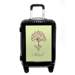Yoga Tree Carry On Hard Shell Suitcase (Personalized)
